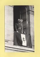 Carte Photo Liberation Du Mans 8 Aout 1944 - General De Gaulle Fenetre Du Theatre Aux Jacobins - Beroul - Le Mans