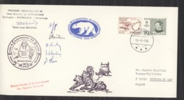 0l  004  -  Groenland  :  Lettre Mission Au Scoresbysund De 1985 - Brieven En Documenten