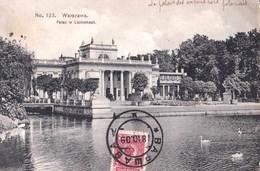 Carte Postale :  Warszawa (Varsovie)  Pologne  Palak Lazienkach      N° 123 - Poland