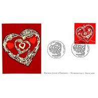 FDC LNF - Coeur Hermès (4718), Oblit 25/1/13 Paris - FDC