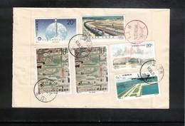 China  1997 Interesting Registered Letter - Cartas