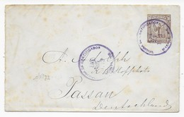 Nicaragua Ganzsache / Postal Stationery 1913  Nach Passau - Nicaragua