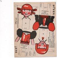 Publicité - OVOMALTINE - Carte à Système - Jeunes Filles à Découper - Werbung