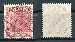 D. Reich Michel-Nr. 86IIc Vollstempel - Geprüft - Oblitérés