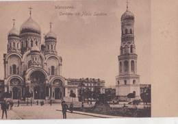 Carte Postale :  Warszawa (Varsovie)  Pologne  Cerkiew Na Placu Saskim   N° 16 - Poland