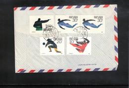 China  1991 Interesting Airmail Letter - 1949 - ... République Populaire