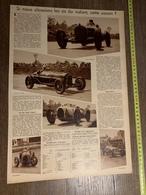 1934 M LES AS DU VOLANT LOUIS CHIRON ACHILLE VARZI HANS STUCK VON VILLIEZ NUVOLARI ETANCELIN - Collections