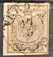 AUSTRIA / LOMBARDO-VENEZIA 1850/54 - VERONA Cancel - ANK LV4 - 30 Centes - Oblitérés