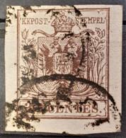 AUSTRIA / LOMBARDO-VENEZIA 1850/54 - ... Cancel - ANK LV4 - 30 Centes - Oblitérés