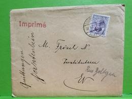 Lettre, Oblitéré Esch-Alzette 1925 - Cartas