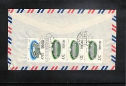 China  1990 Interesting Airmail Letter - 1949 - ... République Populaire