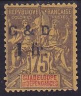 Guadeloupe N° 49 (0)  Neuf * - Voir Verso & Descriptif - - Neufs