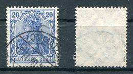D. Reich Michel-Nr. 87IIc Gestempelt - Geprüft - Oblitérés