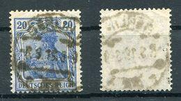 Deutsches Reich Michel-Nr. 87IIc Vollstempel - Geprüft - Gebraucht