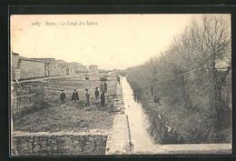 CPA Berre, Le Canal Des Salins - Francia