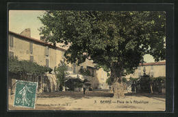 CPA Berre, Place De La Republique - Francia