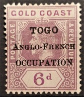 TOGO 1915 - MLH - YT 64 - 6d - Ungebraucht
