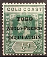 TOGO 1915 - MLH - YT 72 - 0.5d - Ungebraucht