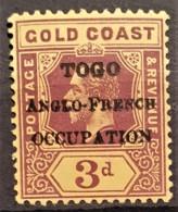 TOGO 1915 - MLH - YT 76 - 3d - Ungebraucht