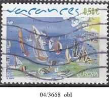 FRANCE 2004 N° 3668    OBLITERE - France