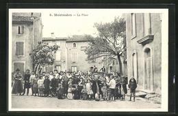 CPA Montredon, La Pace, Des Enfants Im Ort - Frankrijk