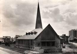 CPSM - LORIENT - PAROISSE Du SACRE-COEUR DU MOUSTOIR - Chantier De L'Eglise Le 17/07/1968  ... - Lorient