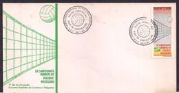 Brasil - 1990 - FDC - XII Championnat Du Monde De Volleyball Masculin - Volleyball