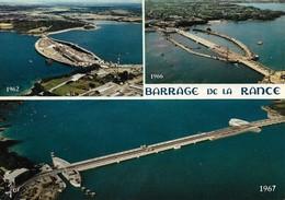 35 Construction Du Barrage De La Rance (2 Scans) - Zonder Classificatie