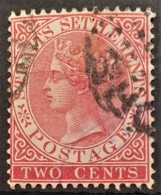 STRAITS SETTLEMENTS 1882/99 - Canceled - Sc# 41 - 2c - Straits Settlements