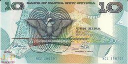 PAPUA NEW GUINEA 10KINA 1988 PICK 9b UNC - Papua Nuova Guinea