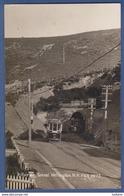 Kilbirnie Tunnel Wellington New Zealand Tram Tramway Real Photo Postcard - Nouvelle-Zélande