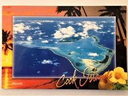 "Cook Islands, Circulated Postcard, ""Landscapes"", ""Islands"", Aitutaki, 2005 - Cook"