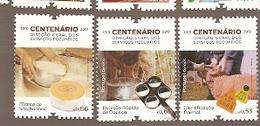 Portugal  ** & Centenary Directorate-General Livestock Services 2019 (3445) - Fattoria