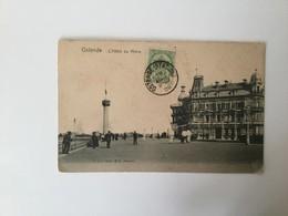 OOSTENDE  1906  OSTENDE L' HOTEL DU PHARE - Oostende
