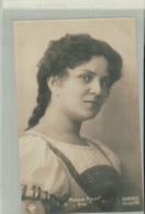 """ARTISTE PORTRAIT Photo  MINNIE NAST   """"EVA""""  Phot. Hahn Nachfl  Dresden 1909   -JAN 2020 Gera 77 - Opéra"""