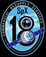 ISS Expedition 60 Dragon Spx-18 Nasa Commercial Resupply Services CRS International Space Station Embroidered Patch - Patches