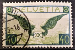 SWITZERLAND 1929/30 - Canceled - Sc# C14 - Airmail 40r - Posta Aerea