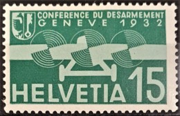 SWITZERLAND 1932 - MLH - Sc# C16 - Airmail 15r - Posta Aerea