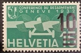 SWITZERLAND 1932 - MLH - Sc# C20 - Airmail 10r/15r - Posta Aerea