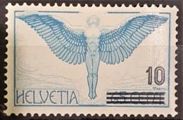 SWITZERLAND 1935/38 - MLH - Sc# C22 - Airmail 10r/65r - Posta Aerea