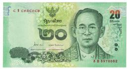 Billet, Thaïlande, 20 Baht, KM:118, NEUF - Thailand