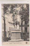 SP- 54 - NANCY - Statue De Jeanne D'Arc - Restaurant - - Nancy