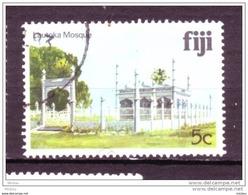 ##25, Fiji, Fidgi,5¢, Architecture, Religion, Mosquée, Mosque - Fiji (1970-...)
