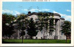Mississippi Jackson Governor's Mansion 1944 - Jackson