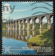 GB 2015 Bridges 1st Royal Border Bridge Good/fine Used [29/26651/ND] - Usati