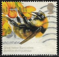 GB 2015 Bees 1st Great Yellow Bumblebee Good/fine Used [29/26653/ND] - 1952-.... (Elizabeth II)