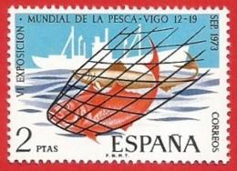 España. Spain. 1973. VI Exposicion Mundial De Pesca. Vigo. World Fishing Exhibition - 1971-80 Ungebraucht