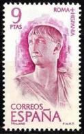 España. Spain. 1974. Roma - Hispania. Marco Ulpio Trajano. Emperador - 1931-Hoy: 2ª República - ... Juan Carlos I