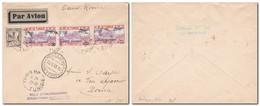 Tunisie - 20/5/1933 Vol Tunis Rome / Posta Aerea Volo Straordinario Tunisi Roma 20/5/1933 (Valore Sassone 550€) - Aerei
