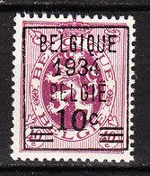 376**  Lion Héraldique Avec Préoblitération - Bonne Valeur - MNH** - COB 105 - Vendu à 10% Du COB!!!! - Belgium